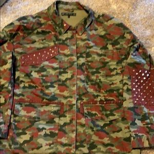 Trendy Camo Jacket